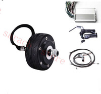 4 80W 24v Double Shaft Electric Wheel Hub Motor For Wheelchair Electric Scooter Hub Motor Kit