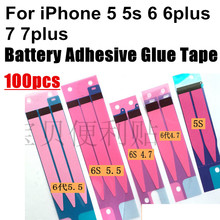 100PCS Battery Adhesive Glue Tape Strip Sticker For iPhone 7 7 Plus 6s 6s Plus For iPhone 6 4.7″&For iPhone 5s&For iPhone 6 Plus