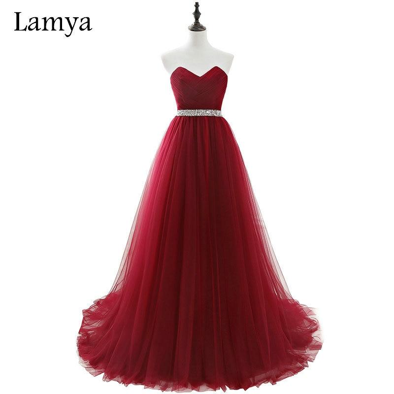 Lamya 2018 Real Photo Cheap Plus Size Long Formal Evening Dresses