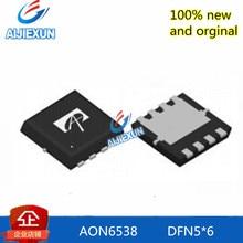 10 шт. новые и оригинальные AON6538 DFN5* 6 30 в n-канал AlphaMOS