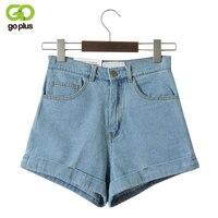 GOPLUS джинсовые шорты с высокой талией для женщин, винтажные сексуальные брендовые шорты, женские джинсы, шорты Feminino Slim Hip, большие размеры C3627