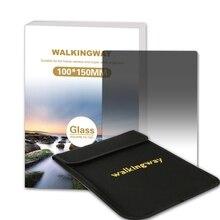 הליכה דרך 150*100mm אופטי זכוכית רך בוגר Filtro ND מסנן G. ND4 ND8 ND16 מצלמה כיכר מסנן עבור Zomei Cokin Z