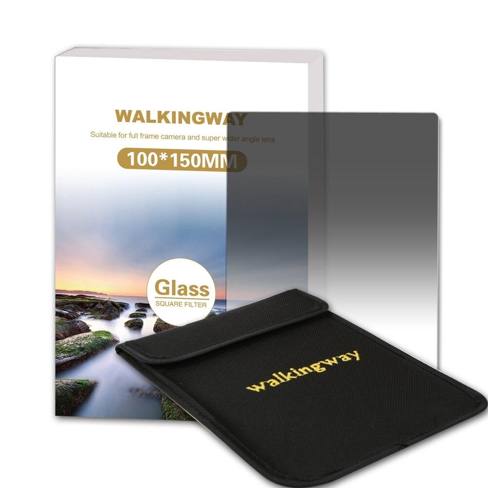 La marche Moyen 150*100mm Verre Optique Souple Terminé Filtro ND filtre G. ND4 ND8 ND16 Caméra Carré filtre pour Zomei Cokin Z