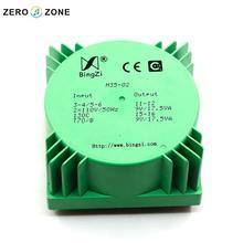 GZLOZONE 35 W Vert Scellé Transformateur Double 9 V À Double 110 V Transformateur Pour Amp