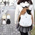 2016 Nuevo Estilo de Japón Diseño Adorable Gato Mochilas Bolsa de La Escuela para Las Niñas Adolescentes Mochila Alumnos Bolso Mochila Escolar