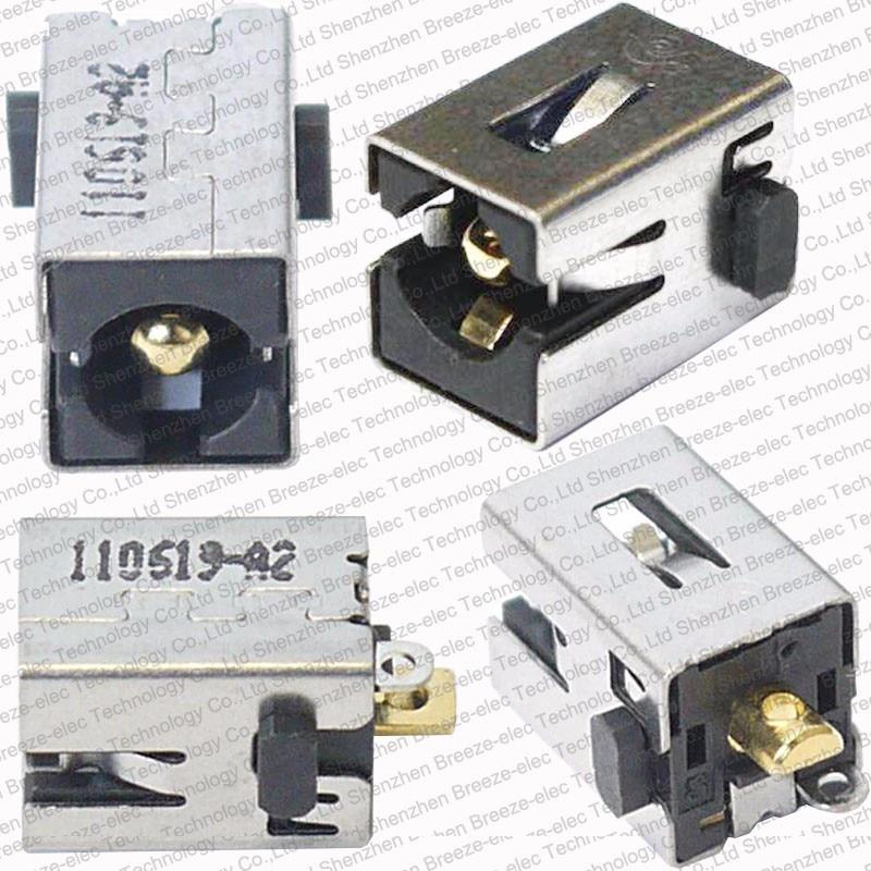 1 ~ 100ks / LOT Originální nový notebook DC jack pro zásuvku Toshiba Satellite C660 A660 L875D C855 C850 P755 P775 P775D T230 T235