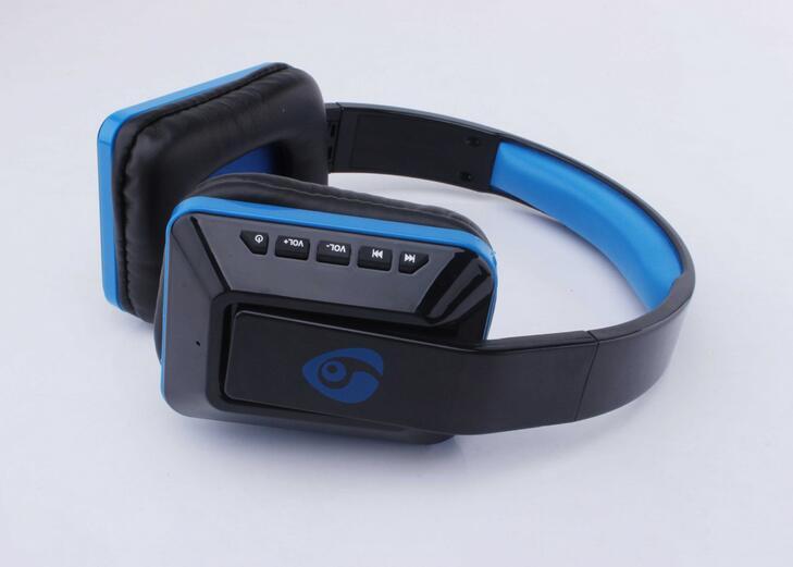 ФОТО Brand Portable Earphone Stereo Headset SD Card+FM Radio Wireless Bluetooth Headphones MX111 for Iphone Samsung Xiaomi
