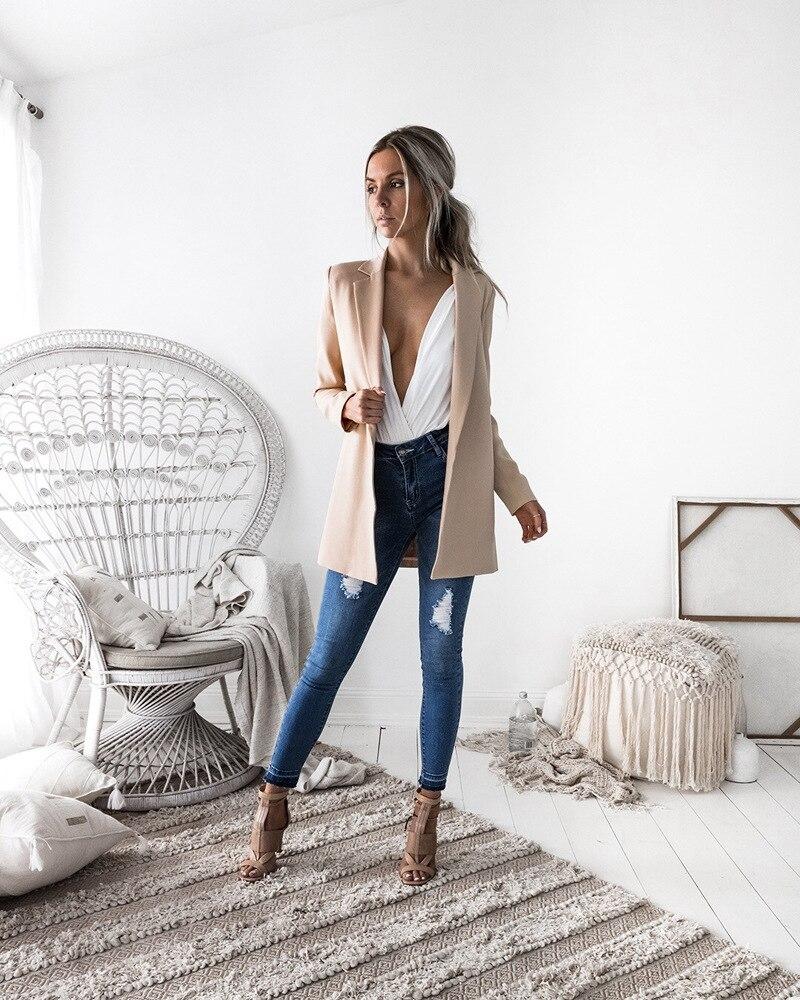 Blazer & Suits 2018 Spring Autumn Women