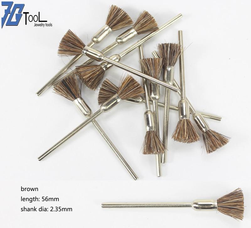 100pcs Wheels Rotating Polishing Tool Cup Nylon Polisher Brush Bristle Mounted Polishing Brush For Dremel Power Tool Accessories