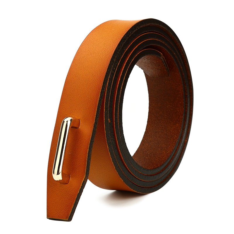 CASTELLES Coupled Buckle Genuine Leather Belt For Women Designer Woman Belt High Quality Female cinturones mujer ceinture femme (5)