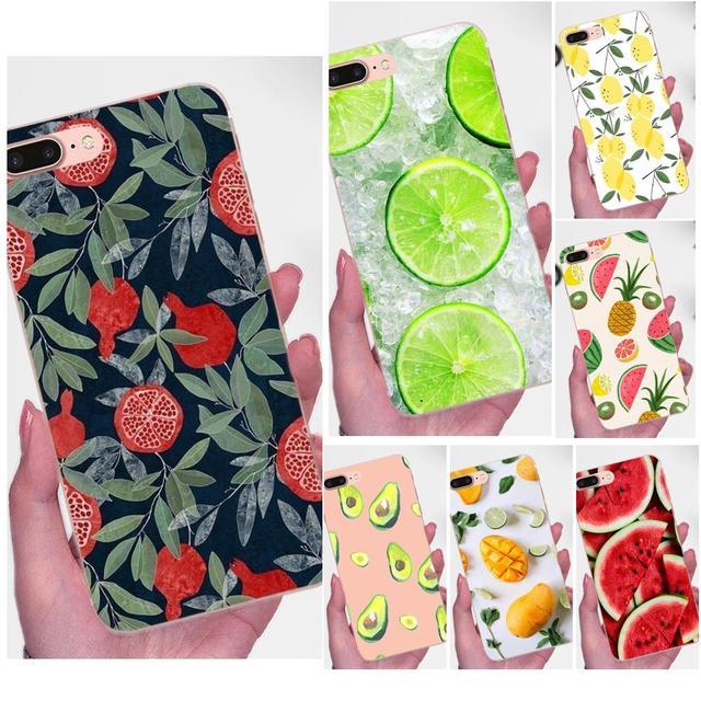 Frutas de verano piña sandía limón caso para LG Nexus 5 5X G2 G3 mini espíritu G4 G5 G6 K4 K7 k8 K10 2017 V10 V20 V30 Stylus