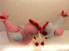 2pcs/lot New Cock Plush Toys Soft Stuffed Rooster Cock New Year Souvenir Kids Doll Toy Child New Year Home Decoration Cock Gift