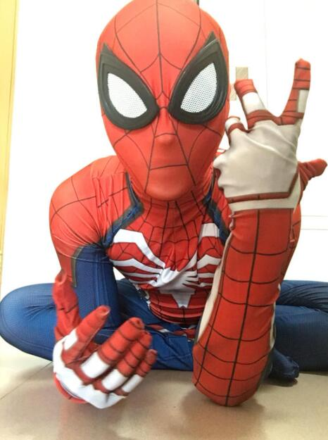Spider man Costume PS4 Game Spiderman Costumes 3D print ...