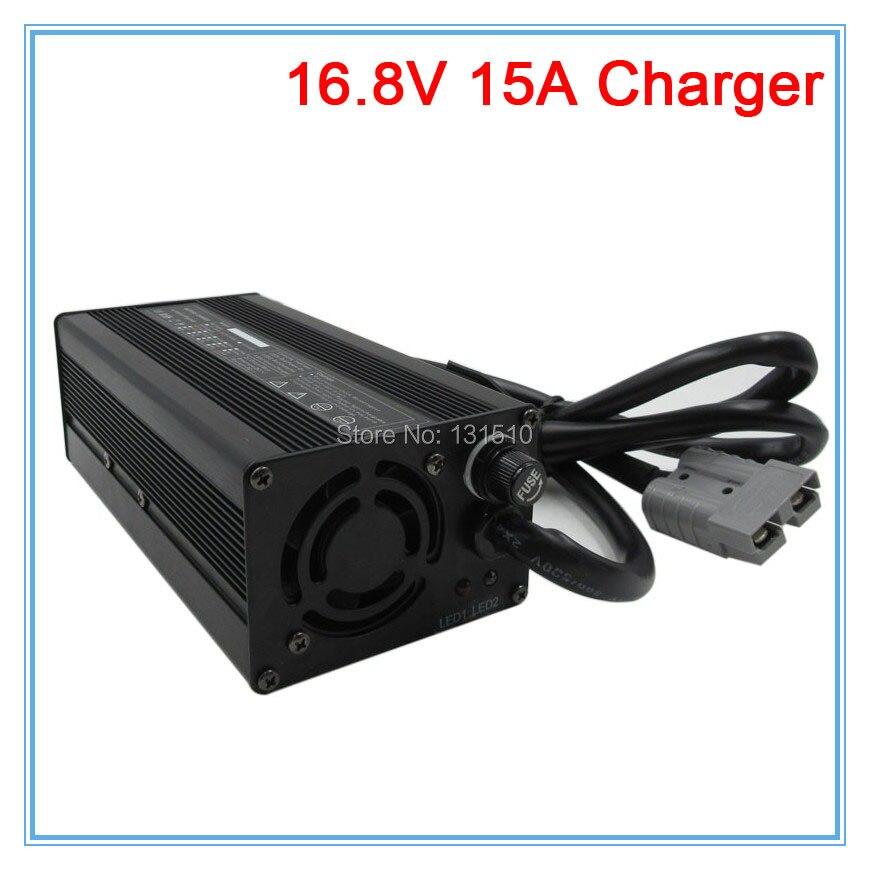 Chargeur de batterie au lithium 360 W 16.8 V 15A chargeur 16.8 V avec ventilateur utilisé pour chargeur de batterie 4 S 14.4 V 14.8 V