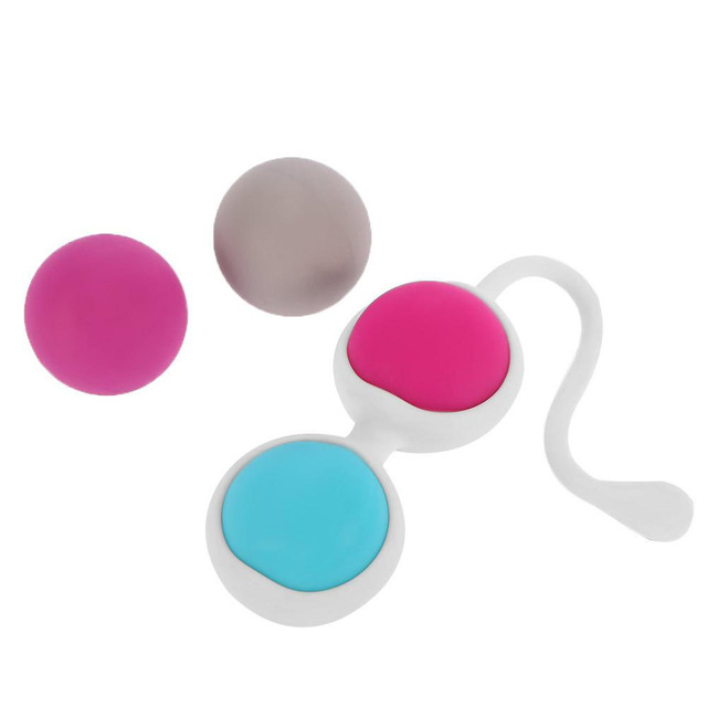 4 PCS SMART KEGEL BALL V TIGH EXERCISE