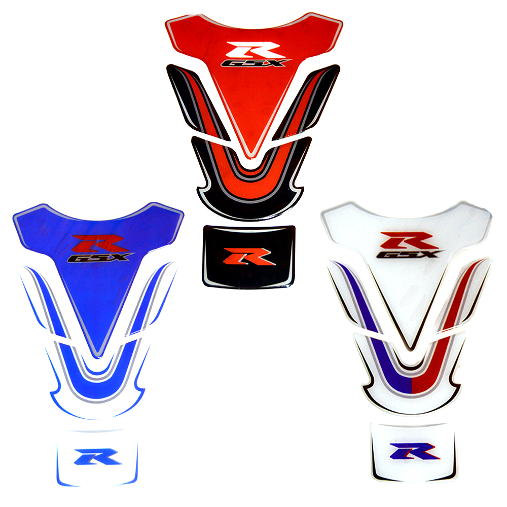 3d Motorcycle Protective Tank Pad Motocross Decal Fuel Tankpad Stickers Case For Suzuki Gsxr R125 R250 600 750 1000 1300 Automobiles & Motorcycles Motorcycle Accessories & Parts