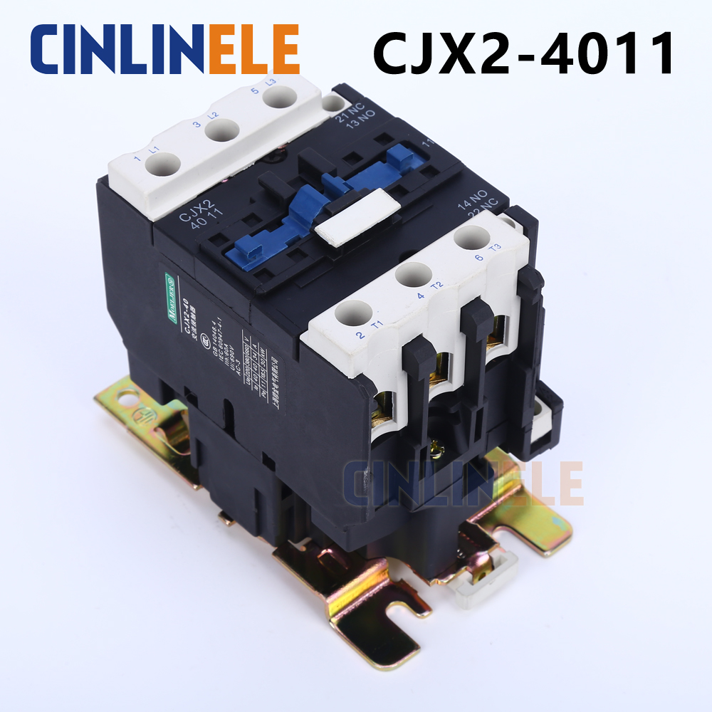 Contactor CJX2-4011 40A switches LC1 AC contactor voltage 380V 220V 110V Use with float switch contactor cjx2 6511 40a switches lc1 ac contactor voltage 380v 220v 110v use with float switch