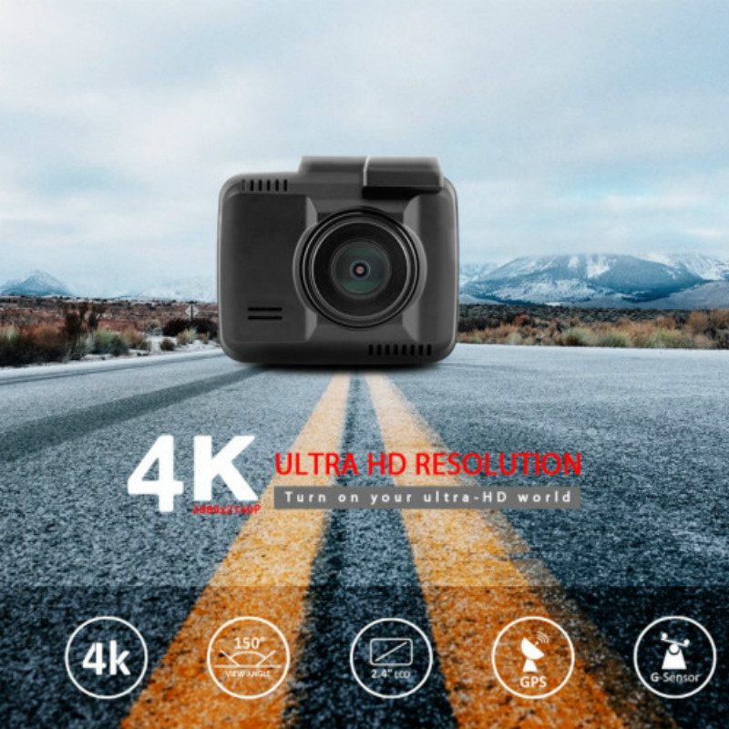 2.4 Car DVR Vehicle GPS Track Recorder  HD 4K WIFI Driving 1080P Dash Cam Camera Cycle Insurance G-sensor Detection Display pvt 898 5g 2 4g car wifi display dongle receiver airplay mirroring miracast dlna airsharing full hd 1080p hdmi tv sticks 3251
