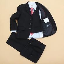 5 pieces communion suits for boys clothing set autumn new arrivals birthday formals clothes Gentleman size 7 8 9 10 11 12