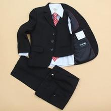 3f7d94085b 5 sztuk komunii stroje dla chłopców odzież zestaw jesień nowości urodziny  elegancja francja ubrania Gentleman rozmiar 7 8 9 10 1.