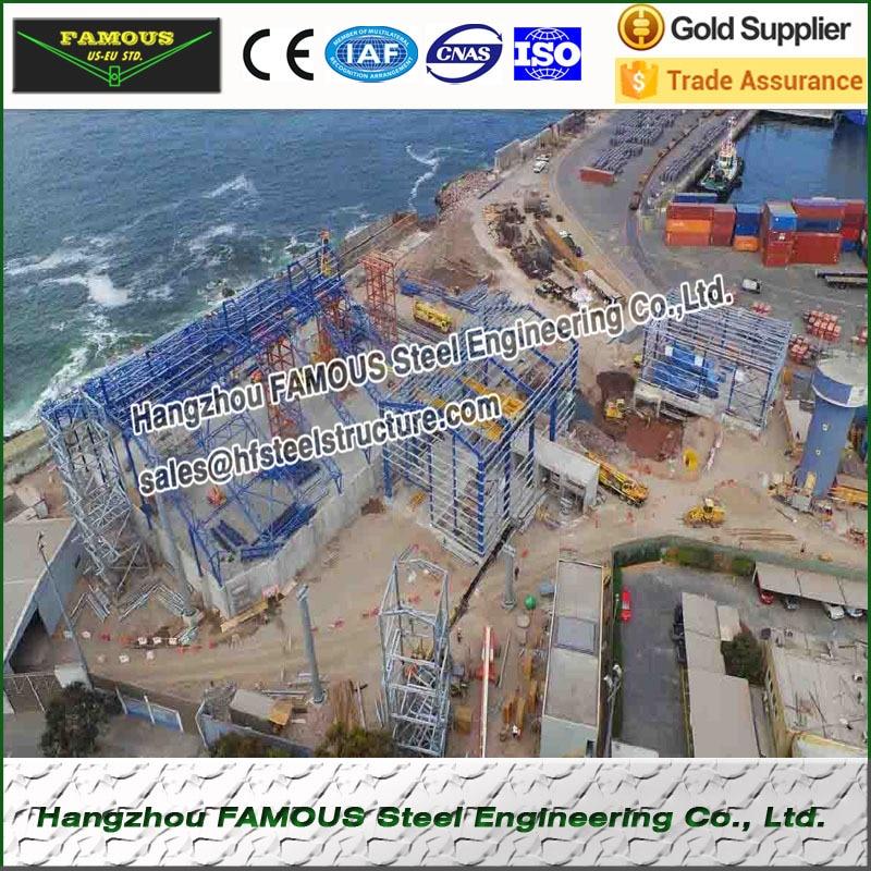 Industrial Workshop Steel Building Fabricated And Pre-engineering