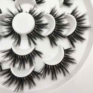 Image 4 - Buzzme H15 25mm lashes 3D sintetico ciglia 7 paia lashes popolare ciglia finte trucco