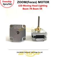 Litewinsune 2pcs Free Ship Focus Step Motors 2Phase for Beam R7 230W Sharp Beam LED Moving Head Light
