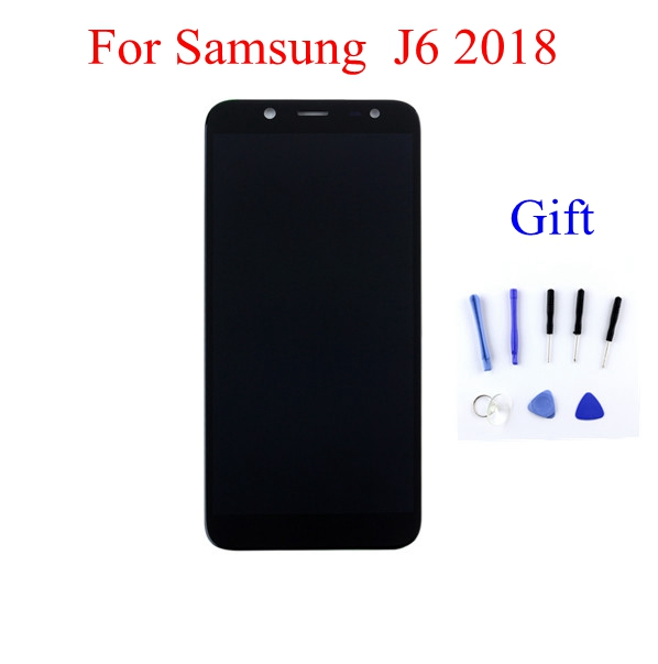 STARDE Replacement LCD For Samsung Super AMOLED 2018 J6 J600 J600F  LCD Display + touch screen Digitizer Assembly  Black/GoldSTARDE Replacement LCD For Samsung Super AMOLED 2018 J6 J600 J600F  LCD Display + touch screen Digitizer Assembly  Black/Gold