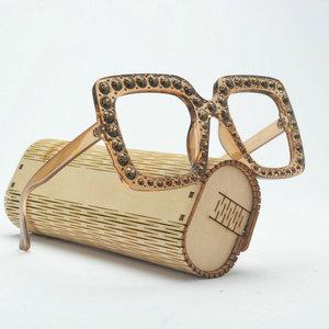 Image 1 - 2019 Модные женские очки для чтения с кристальной оправой в стиле ретро очки для дальнозоркости с диоптриями против усталости и дальнозоркости женские очки для чтения NX