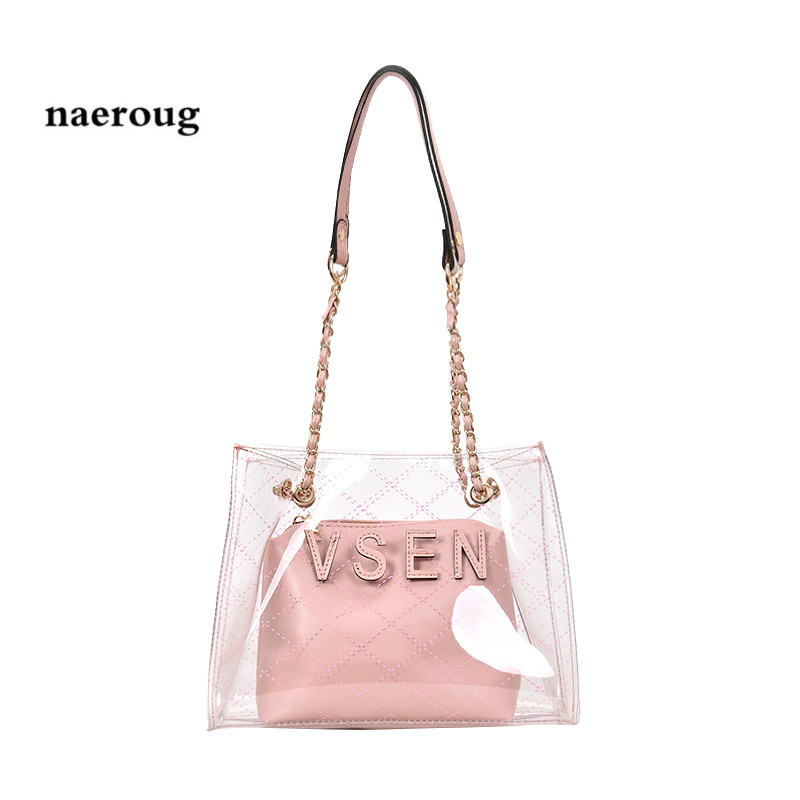 Laser Jelly Flap Bag Patent Leather Handbag Ladies Small Holographic Metallic Chain Totes Crossbody Shoulder channel bag gg Bag