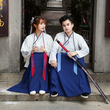 Traditional Chinese Hanfu Clothing Male Performance Costumes Classical Tang Dynasty Princess Dress National Ancient Suit