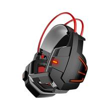 Hantu Stereo Bass Headphone Game Komputer Internet Cafe Headset Kebisingan Membatalkan Earphone dengan Micphone