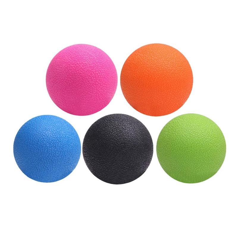 Practical TPE Peanut Massage Ball Lacrosse Fitness Balls Therapy Gym Relaxing Exercise Yoga Ball Release Muscle Sports equipment
