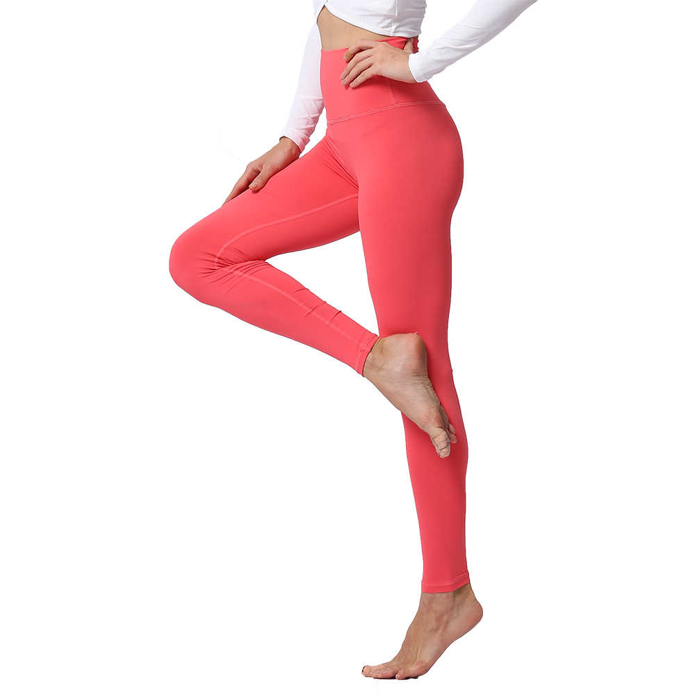 275238f5f4a9c Yoga Pants Leggings for Fitness Push Up High Waist Tights Solid Polyester  Running Gym Training Workout
