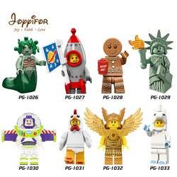 Joyifor 2018 Новый Лот Совместимость История игрушек LegoINGlys Вуди Базз Лайтер Статуя Свободы Рекс Энди Чен Best подарок для детей