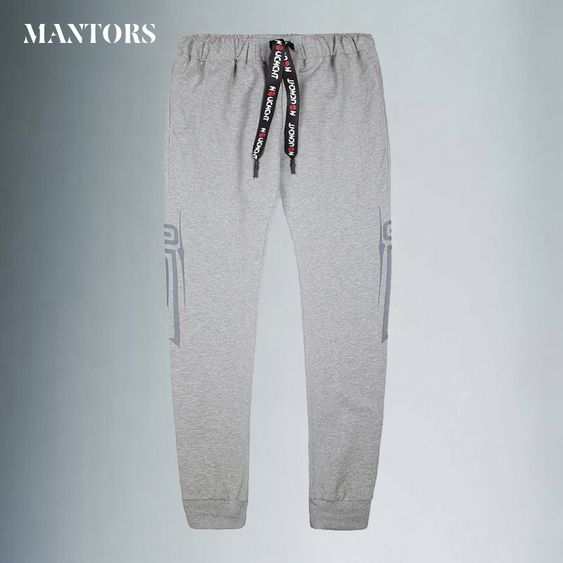Casual Fitness Pants Men Gyms Pants Men Skinny Sweatpants Fashion Solid Trousers Mens Jogger Sweatpants New Brand High Quality