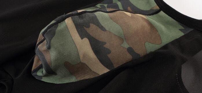 Реальные фотографии M, L, XL, XXL камуфляж леопардовые пикантные гей U выпуклая Дизайн Человек Нижнее Бельё для девочек Корректирующее Бельё для женщин Корректирующие боди для женщин плотно Костюмы mp046