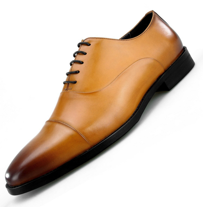 Large size EUR45 NEW 2018 Brown  black pointed toe oxfords business shoes  mens dress shoes genuine leather mens wedding shoes - aliexpress.com -  imall.com 88b4c8b6bd38