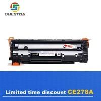 Obestda 78A/a CF278A 278A/a 278 toner cartridge compatible for HP laserjet pro P1560 1566 1536 1600 1606DN P1606N M1536D print