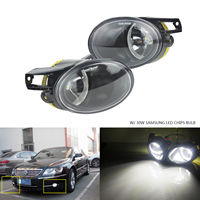 ANGRONG Replacement For VW Passat 3C B6 Front Bumper Fog Light Lamp 30W SAMSUNG LED Bulb L&R