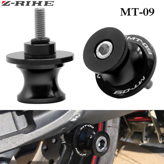 free delivery 6mm 10mm motorcycle cnc swingarm sliders spools