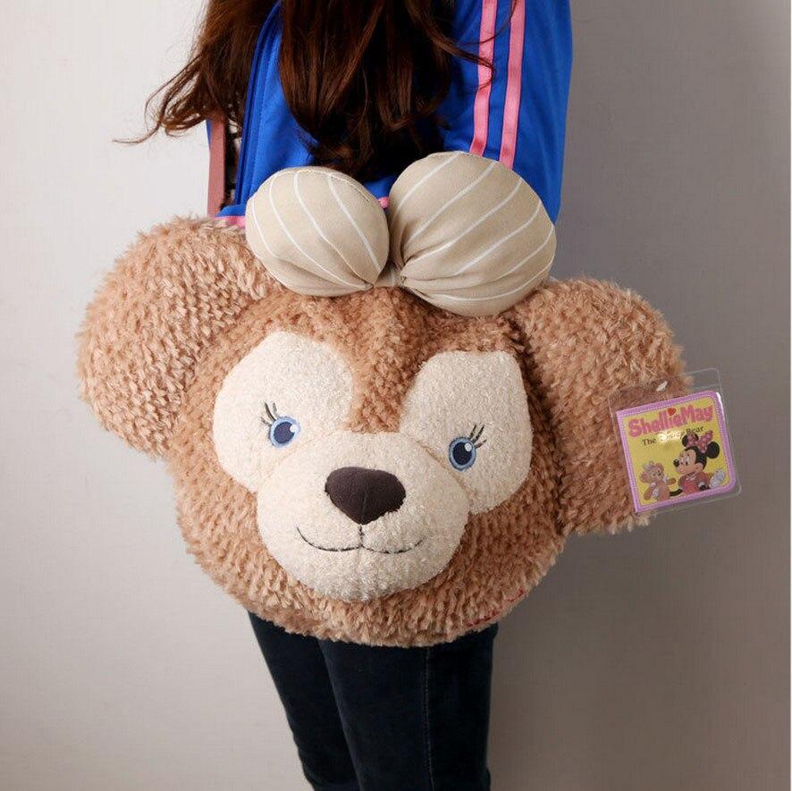 15 off 1pcs duffy shelliemay Cartoon plush bag large about 45 35CM 2015122406
