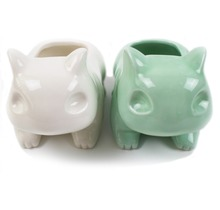 Kawaii Pokemon Bulbasaur Ceramic Flowerpot