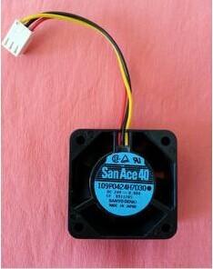 Auténtico Original 109P0424H7D30 4 CM 24 V SANACE40 3 conductores ventilador de refrigeración