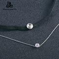 Promotion!!! New Listing 100% Silver CZ Diamond Pendant Necklace Zircon Necklace for Women 925 Silver Pendant Necklace A617