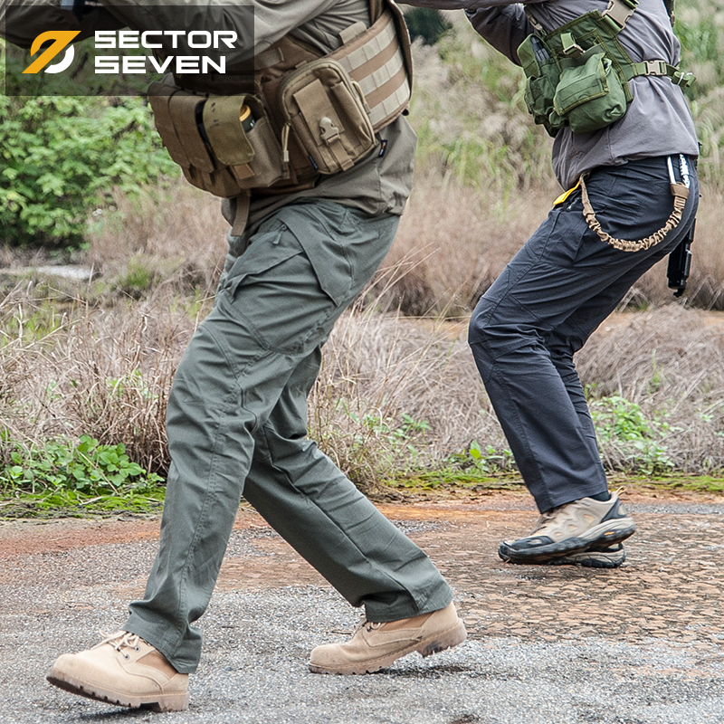 IX9 Lycra tactical War Game Cargo pants mens silm Casual Pants mens trousers Combat SWAT Army