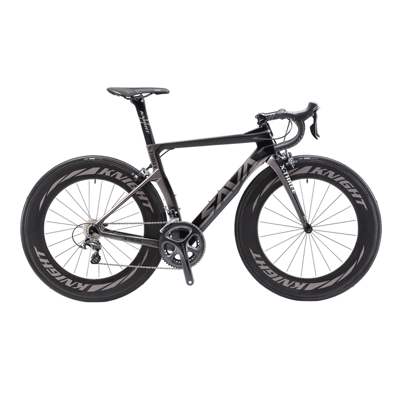 SAVA 700C Road Bike T800 Carbon Fiber Frame Cycling Bicycle SHIMANO ...