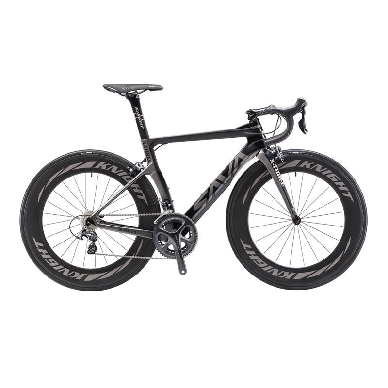 SAVADECK Phantom 3.0 700C Road Bike T800 Carbon Fiber Frame Cycling Bicycle  SHIMANO Ultegra 8000 22