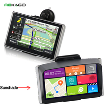 7″ Android GPS,Quad Core Car Truck Navigator,,Bluetooth wifi,8G,512M,AV-in, Map ,Sunshade Sunshine Shield Free shiping