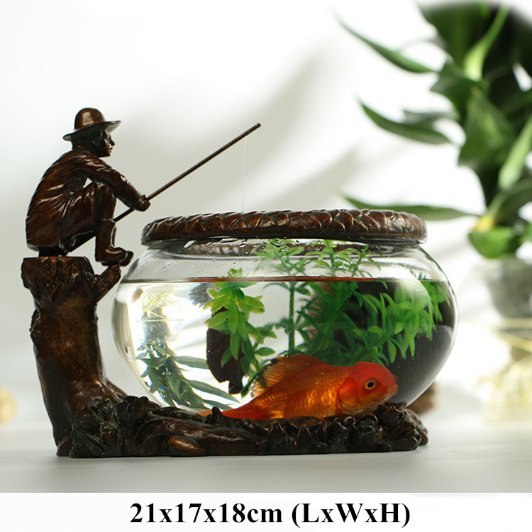 Turtle glass bowl reviews online shopping turtle glass for Small glass fish tank